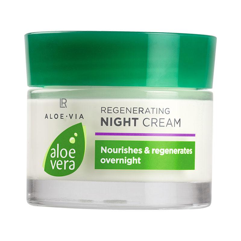 Crème de nuit régénérante Aloe Vera
