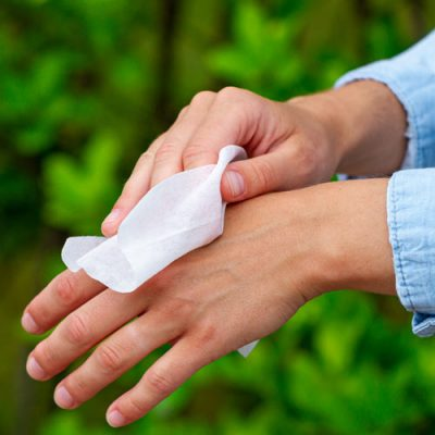 Lingettes de nettoyage Aloe Vera