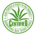 Certified IASC Aloe Vera