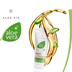 Soins cheveux Aloe Via