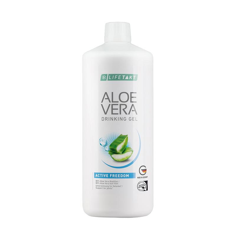 Gel à boire à l'Aloe Vera aux composants actifs Lifetakt