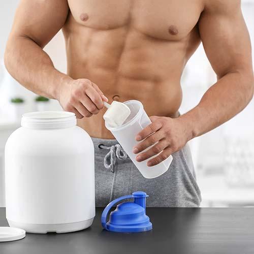 Fibres alimentaires en poudres : préparation fiber boost homme