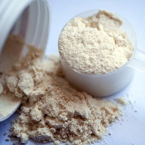 Protéine en poudre saveur vanille : protéine en poudre