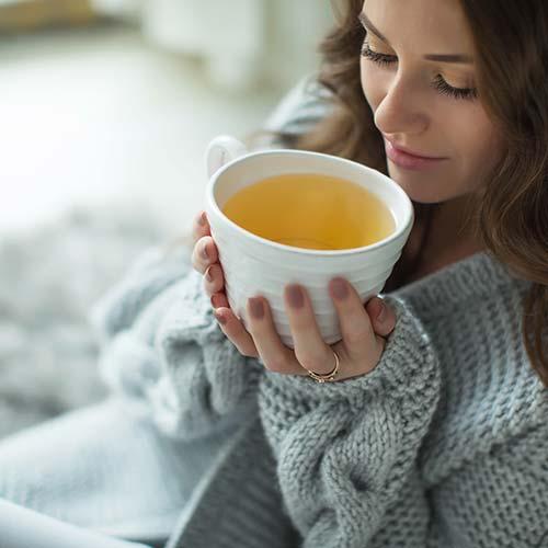 Thé aux herbes hypocaloriques : thé