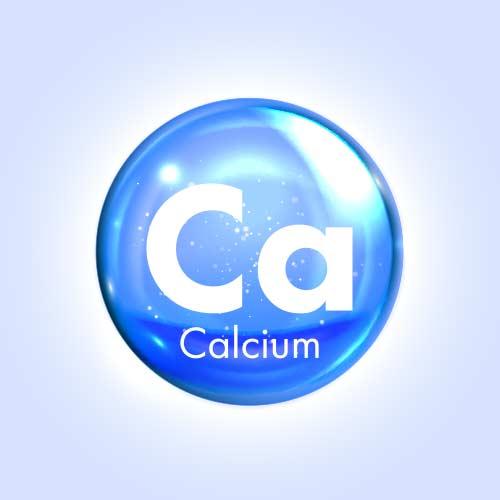 Capsules pour la ménopause : calcium