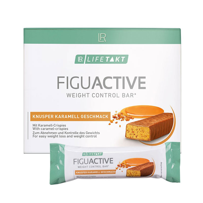 Barre FiguActive saveur crunchy caramel