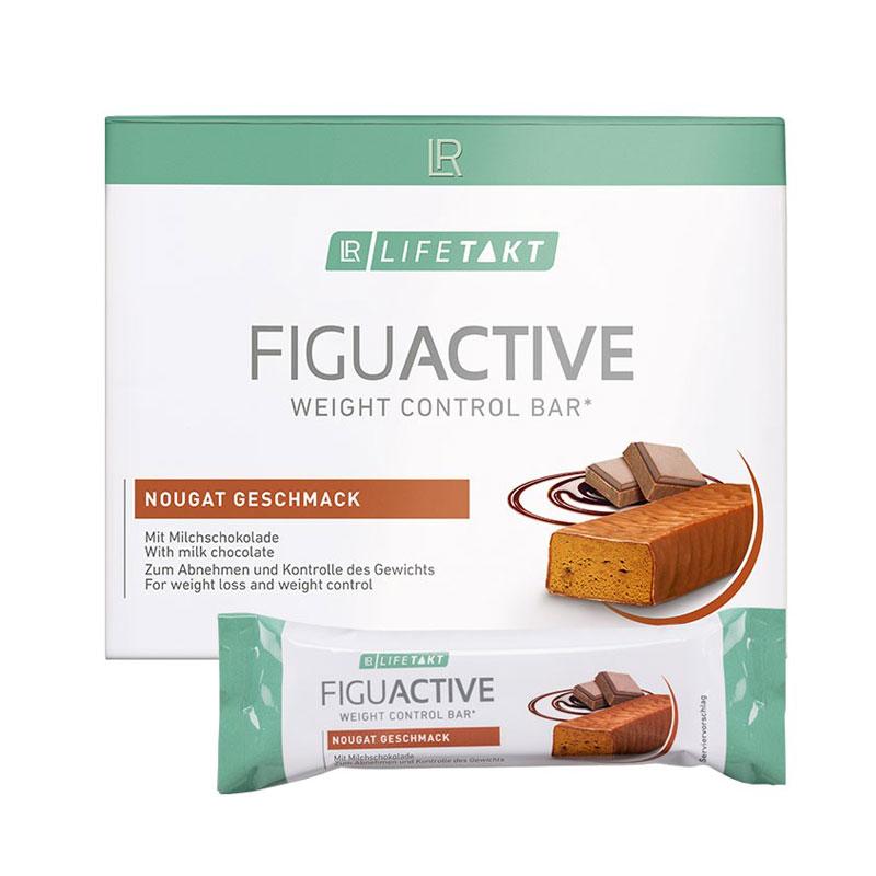 Barres FiguActive saveur nougat