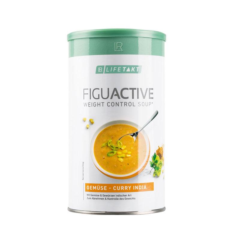 """Soupe aux légumes et aux curry """"inde"""" FiguActive"""